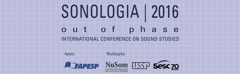 SONOLOGIA 2016 - Out of Phase